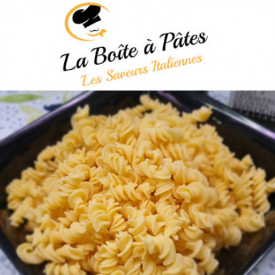 Fusilli frais au gorgonzola mascarpone : La boite à pâtes