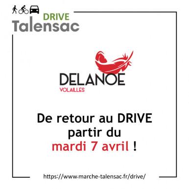 Richard Delanoë de retour au Drive !