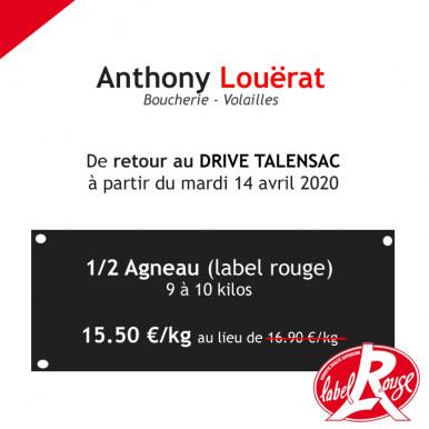 Anthony Louërat de retour au DRIVE du marché