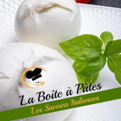Raviolis aux artichauts et burrata à la truffe