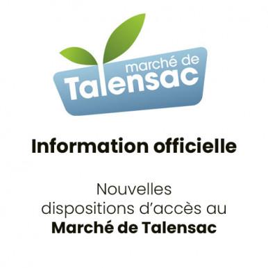 Information officielle marché