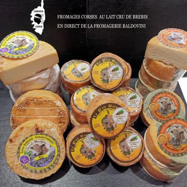 Fromage Corse au Lait Cru de Brebis